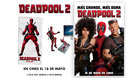Ganadores sorteo 5 Packs (MUÑECO PARA PC + TOALLA) de Deadpool 2