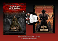 SORTEAMOS PACKS DE REGALOS EXCLUSIVOS DE LA VAMPIRA DE BARCELONA
