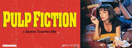 PULP FICTION reestreno en cines con 39 ESCALONES