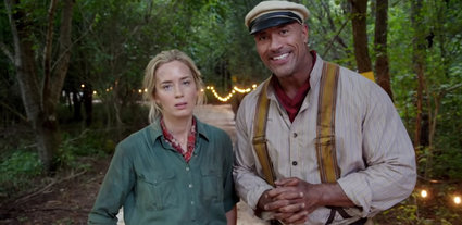 "PRIMER TRAILER DE  ""JUNGLE CRUISE"" DE DISNEY CON DWAYNE JOHNSON Y EMILY BLUNT"