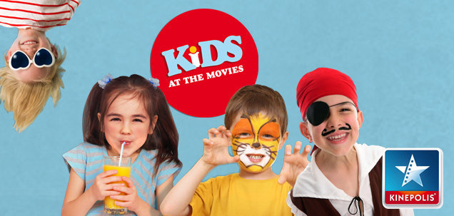 Descubre Kinépolis Kids at the Movies