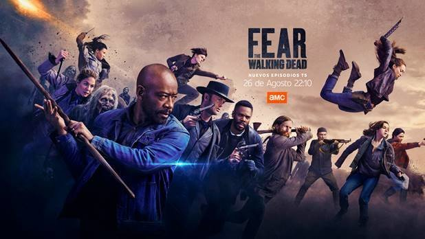 AMC estrena la segunda mitad de la quinta temporada de 'Fear the Walking Dead' (se incluye trailer).