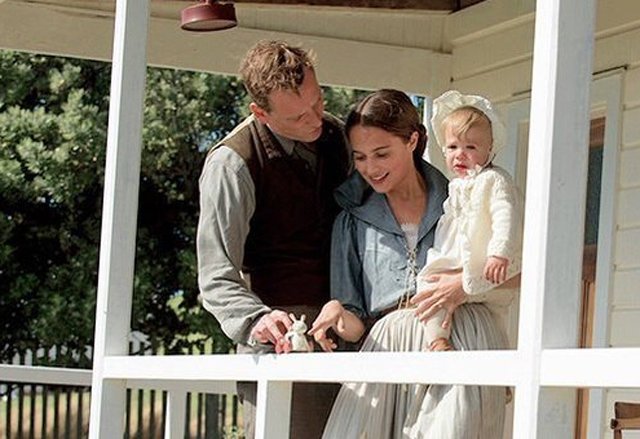 Image result for the light between oceans movie imaghes