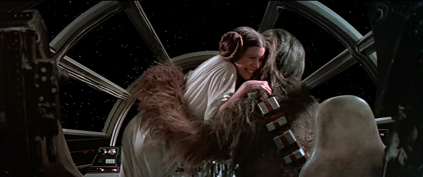star wars - victory hug