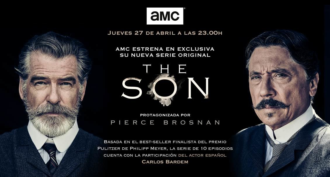 AMC estrena en exclusiva su nueva serie original THE SON, protagonizada por Pierce Brosnan.