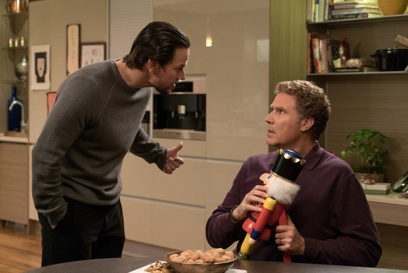 Mark Wahlberg plays Dusty and Will Ferrell plays Brad in Daddy's Home 2 from Paramount Pictures.