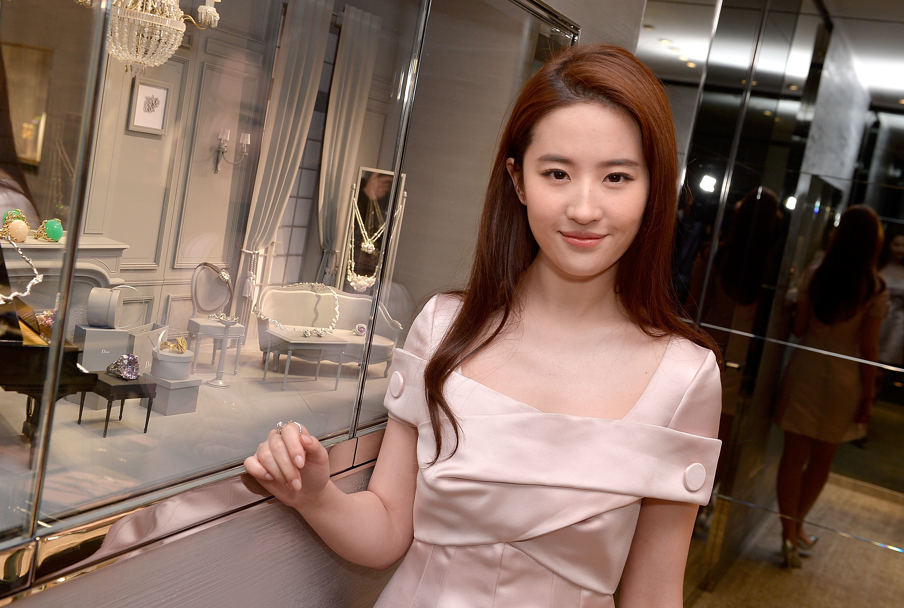 CANNES, FRANCE - MAY 11:  Actress Liu Yifei attends the Dior Boutique Opening during the 69th Annual Cannes Film Festival on May 11, 2016 in Cannes, France.  (Photo by Francois Durand/Getty Images for Dior)